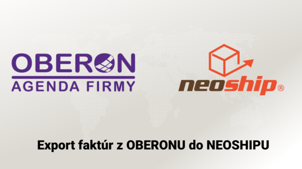 Export faktúr z OBERONU do NEOSHIPU